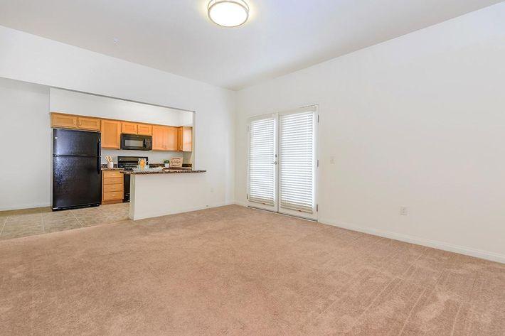 Watermark has large living room areas