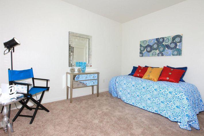 Watermark has carpeted bedrooms