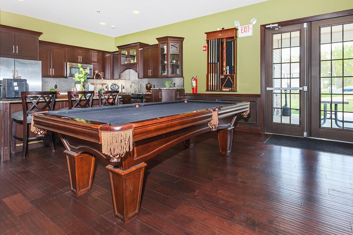 CLUBHOUSE WITH BILLIARDS
