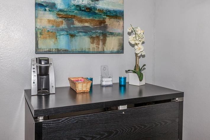 Coffee Bar at Laurel Park Apartments
