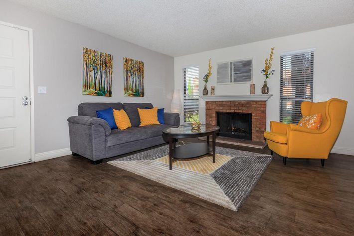 Laurel Park Apartments offers hardwood style flooring