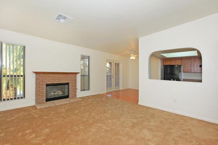Carpeted floors at Laurel Park Apartments