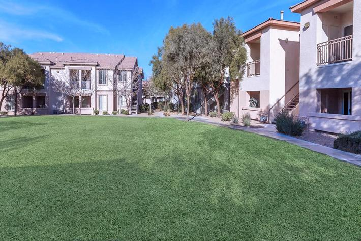 AT ACERNO VILLAS APARTMENT HOMES, YOU WILL ENJOY BEAUTIFULLY MANICURED GROUNDS.