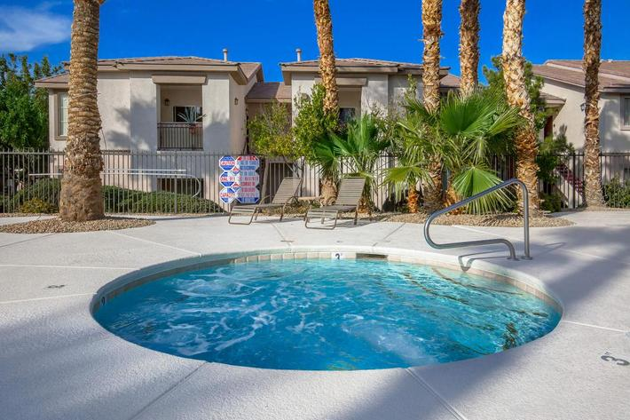 ENJOY OUR SPA AT ACERNO VILLAS IN LAS VEGAS, NEVADA