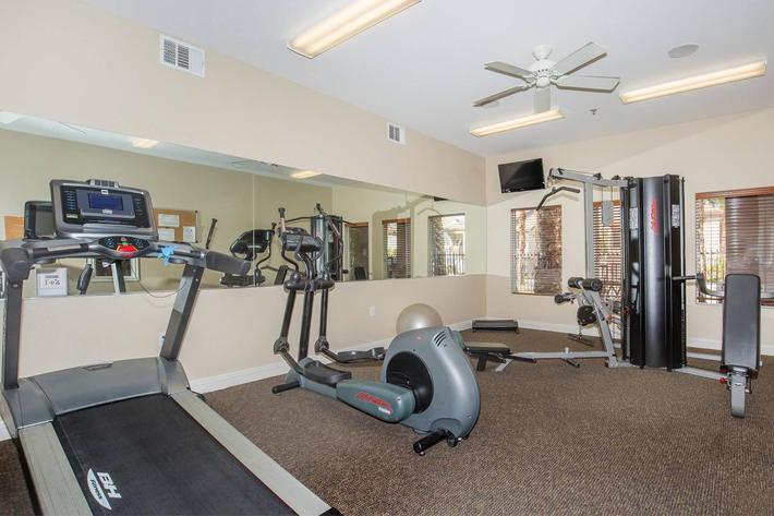 STAY FIT AT ACERNO VILLAS APARTMENT HOMES IN LAS VEGAS, NEVADA