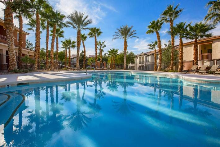 SWIM WITH US AT ACERNO VILLAS APARTMENT HOMES IN LAS VEGAS, NEVADA