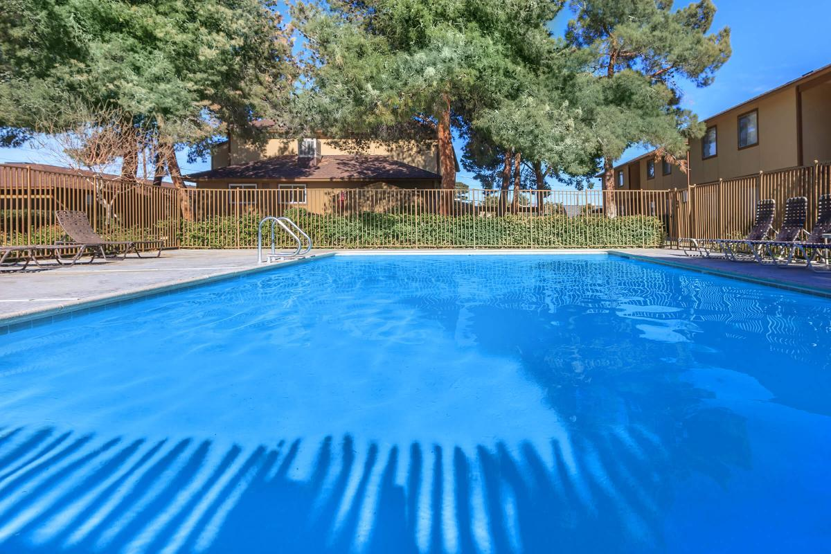 ENJOY OUR POOL AT ALPINE VILLAGE IN LAS VEGAS, NEVADA