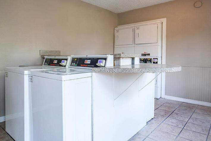 Laundry facility here at Heron Walk Apartments in Jacksonville, Florida