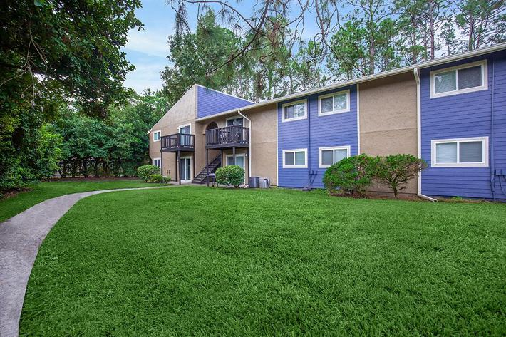 Take a stroll here at Heron Walk Apartments in Jacksonville, Florida