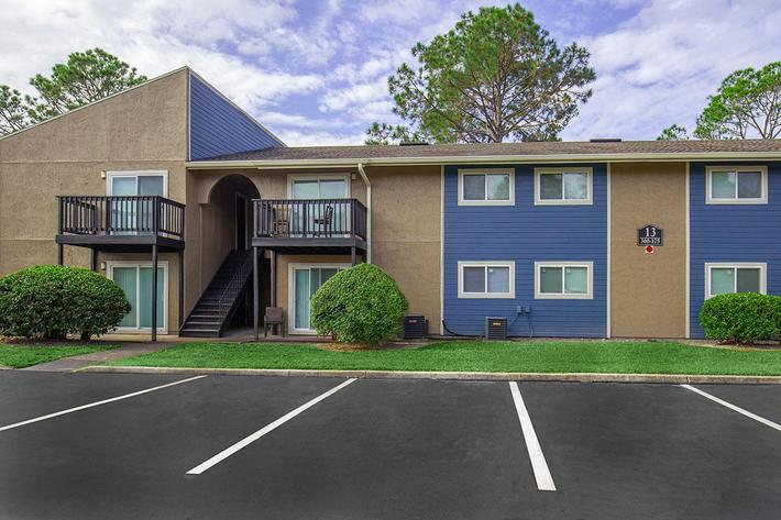 Unique community here at Heron Walk Apartments in Jacksonville, Florida
