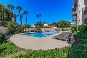 Relax poolside at Casa Del Mar in San Diego, CA