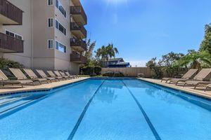 Swim some laps in the swimming pool at Casa Del Mar