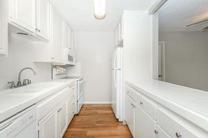 Fully-equipped kitchens at Casa Del Mar