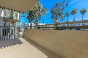 Personal patio or balcony at Casa Del Mar