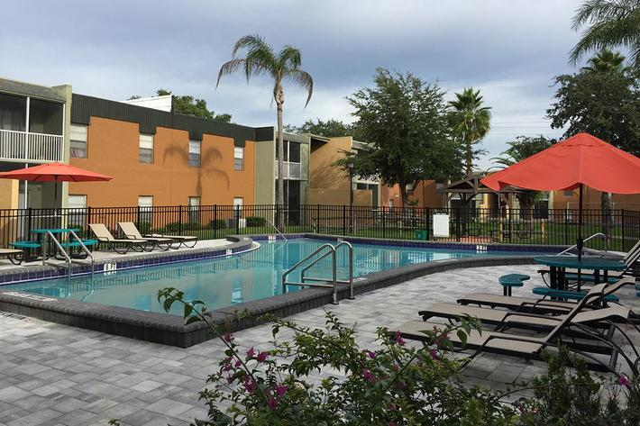 Enjoy the Sunshine at River Rock in Temple Terrace, Florida