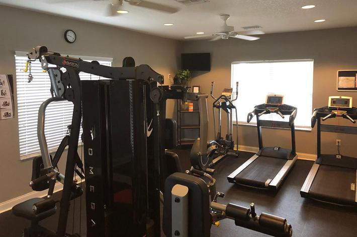Staying Fit is Easy Here at Village at Laurel Meadows in Bartow, Florida