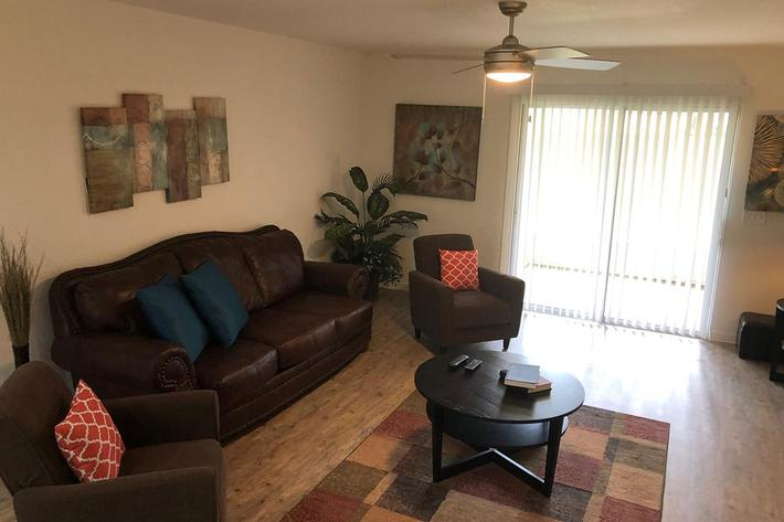 Large Living Rooms at Village at Laurel Meadows in Bartow, Florida