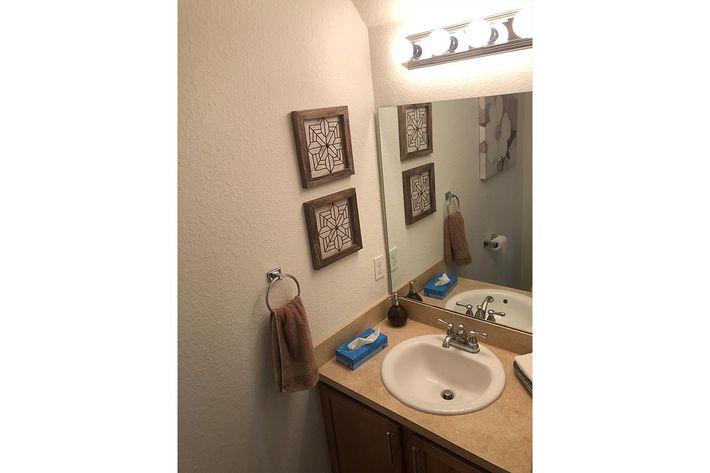 Modern Bathrooms at Village at Laurel Meadows in Bartow, Florida