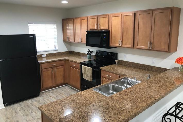 Saddle Up to the Breakfast Bar Here at Village at Laurel Meadows in Bartow, Florida