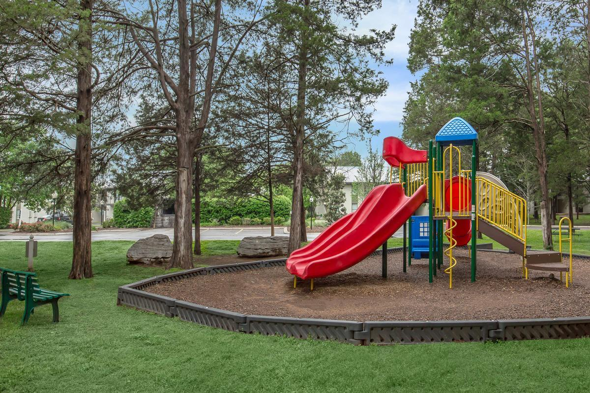 A play area at Ashwood Cove in Murfreesboro, Tennessee