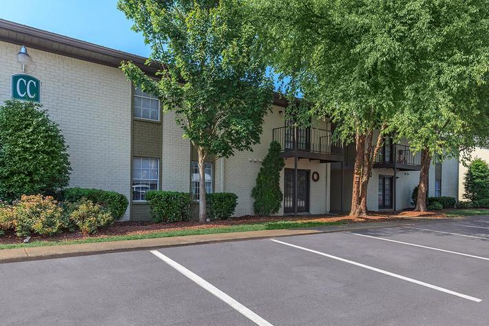 Ample Parking at Ashwood Cove in Murfreesboro, Tennessee