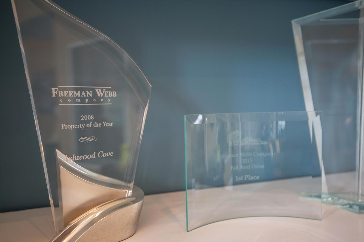 Ashwood Cove in Murfreesboro, TN Property Of the Year Award