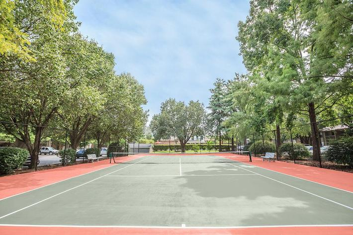 Enjoy a Game of Tennis Here at Ashwood Cove in Murfreesboro, TN