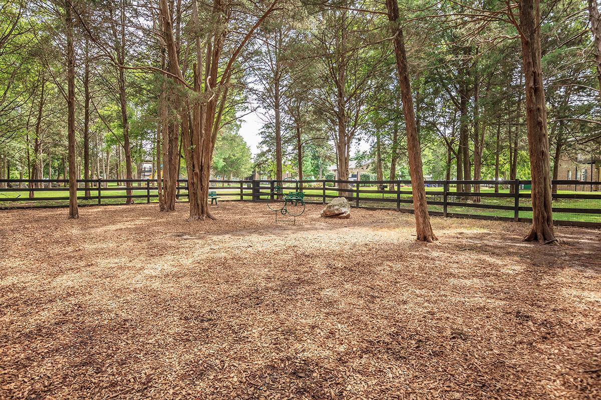 Enjoy the Dog Park at Ashwood Cove in Murfreesboro, Tennessee