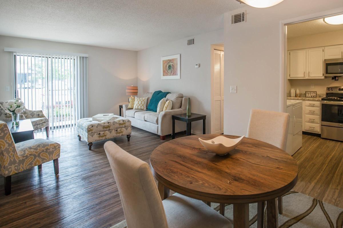 The Juniper Dining and Living Rooms at Ashwood Cove in Murfreesboro, TN