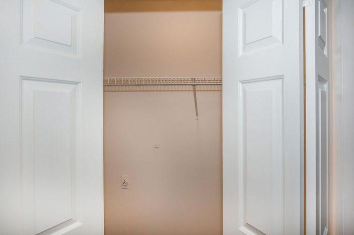 Spacious Closet at Ashwood Pine