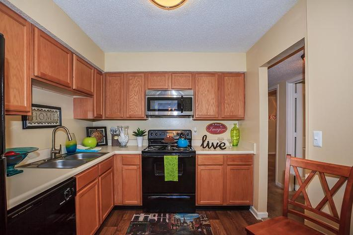 Kitchen at Ashwood Cove in Murfreesboro, Tennessee