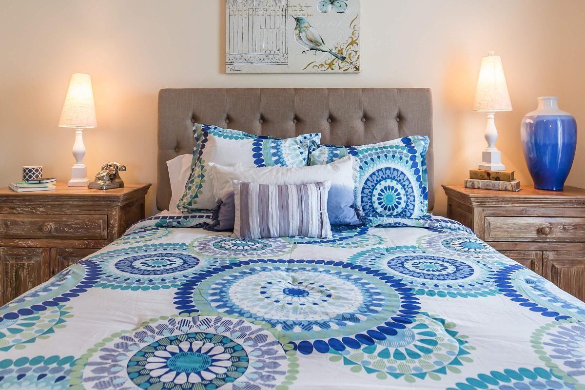 A cozy bedroom at Ashwood Cove