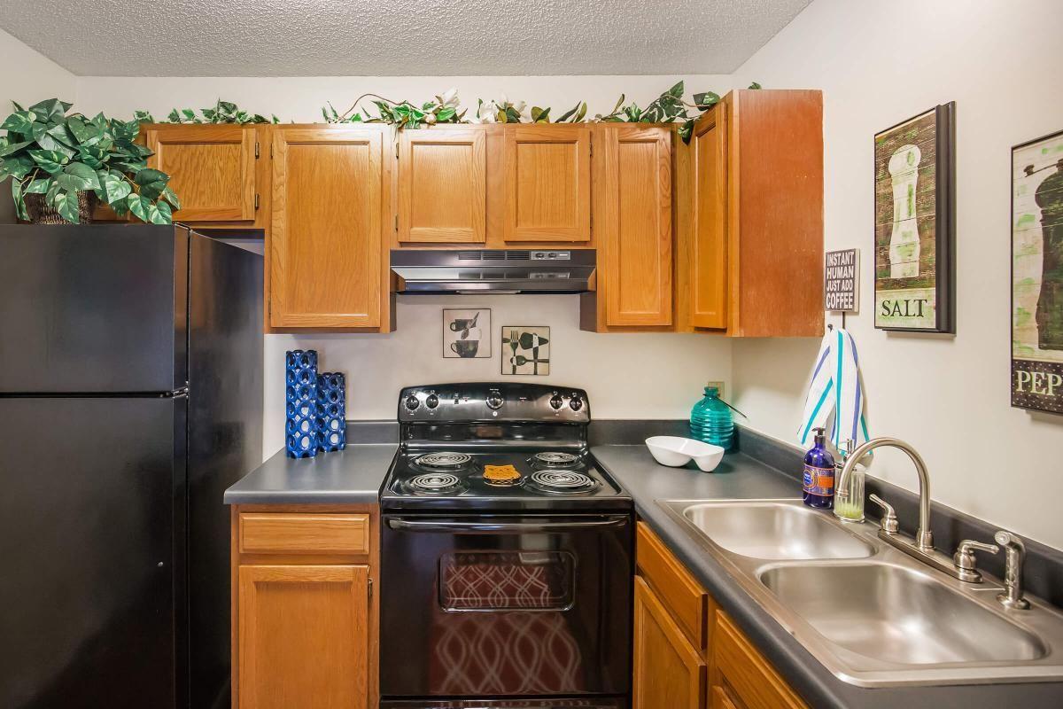 The kitchen at Ashwood Cove