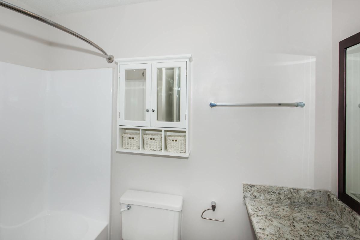 The Pine bathroom at Ashwood Cove in Murfreesboro, Tennessee