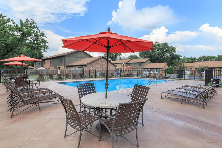 Catch Some Rays Pool Side Here at the Colony House in Murfreesboro, Tennessee
