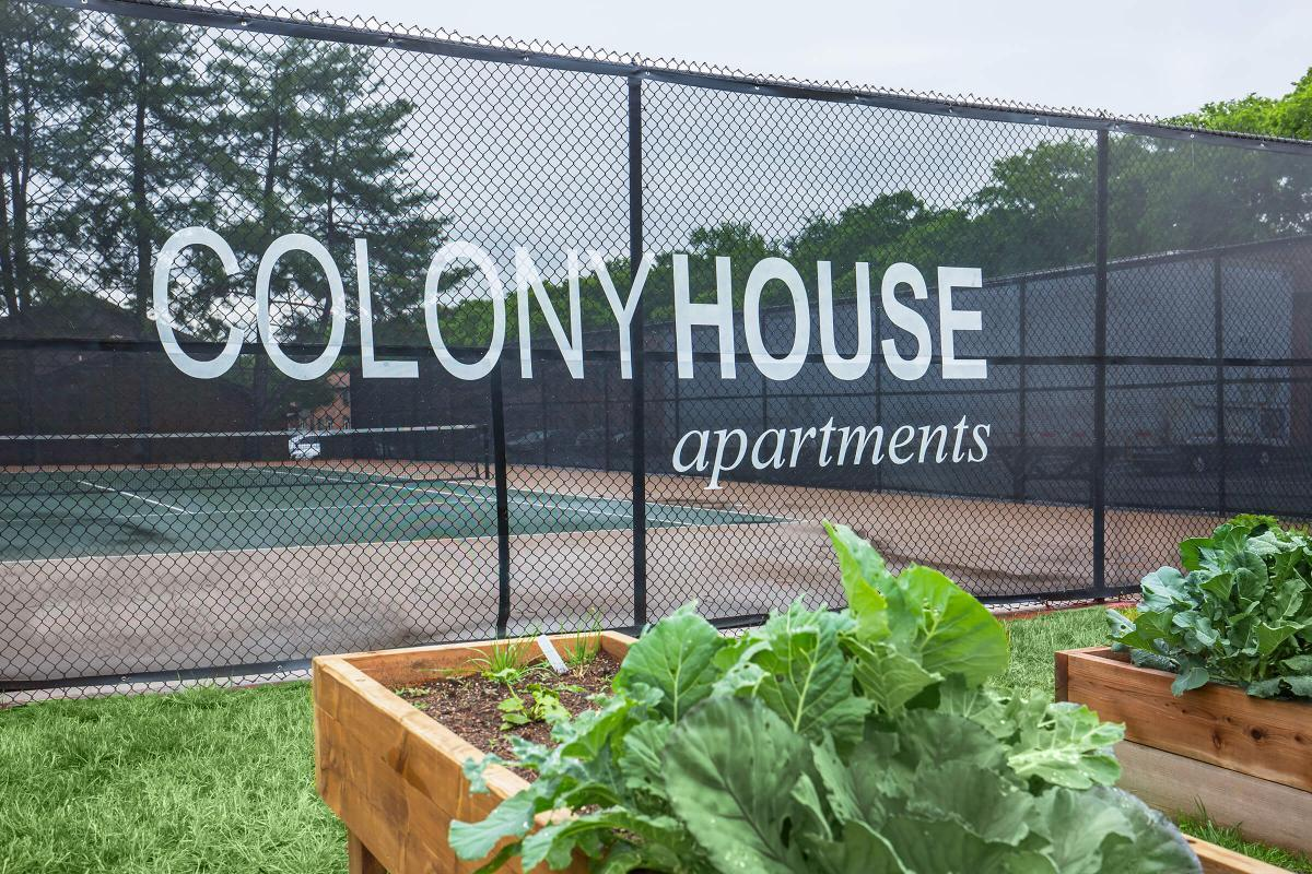 Gardening at Colony House
