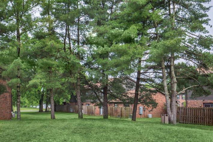 Relax in the Park Like Setting Here at Colony House Apartments For Rent In Murfreesboro, Tennessee