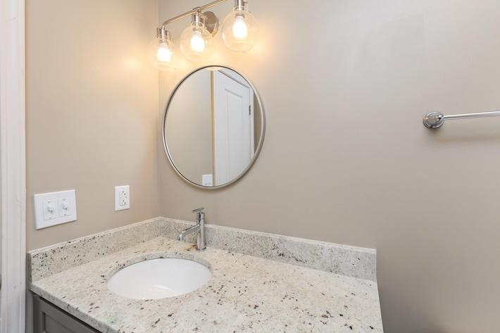 Beautiful Bathroom Countertops at The Franklin at Colony House in Murfreesboro, Tennessee