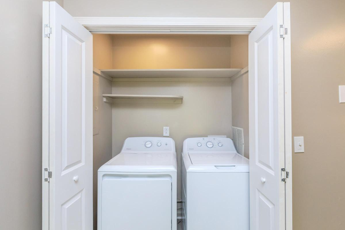 In-home washer and dryer at Colony House in TN
