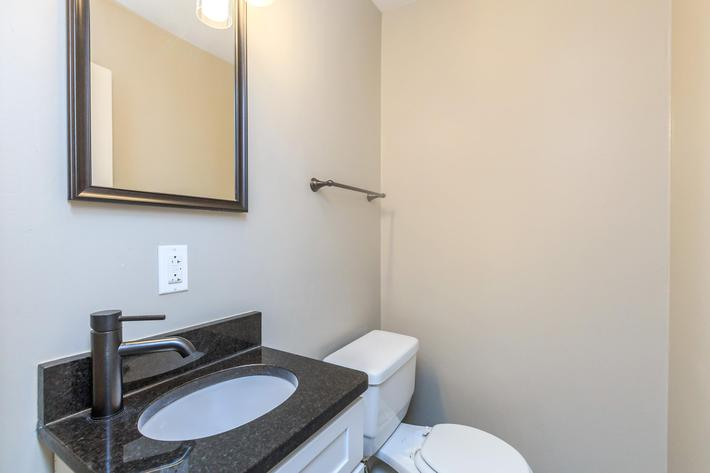 The Lincoln Half Bathroom