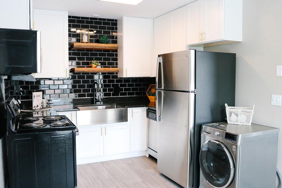 Contemporary Kitchen in The Washington
