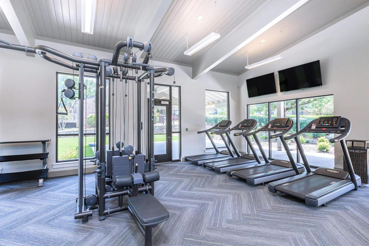 24 hour fitness center at Gazebo Apartments