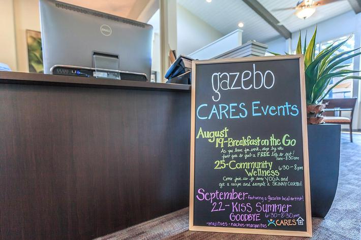 Community Events At Gazebo Apartments