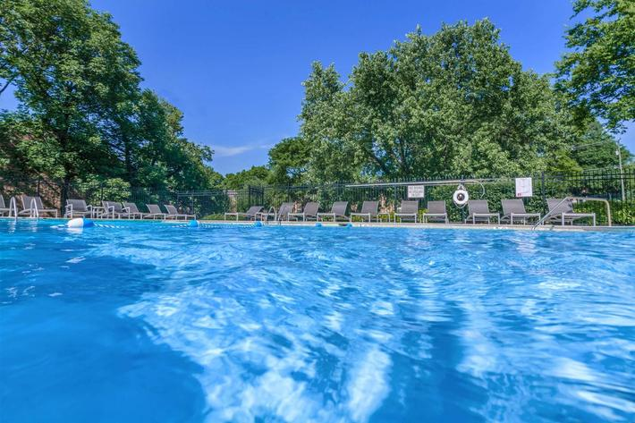 Meet Your Friends Poolside  At Gazebo Apartments
