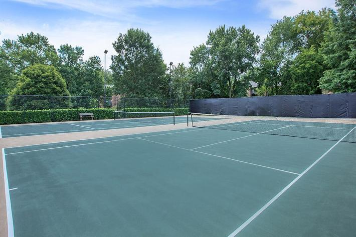 Play Tennis  At Gazebo Apartments