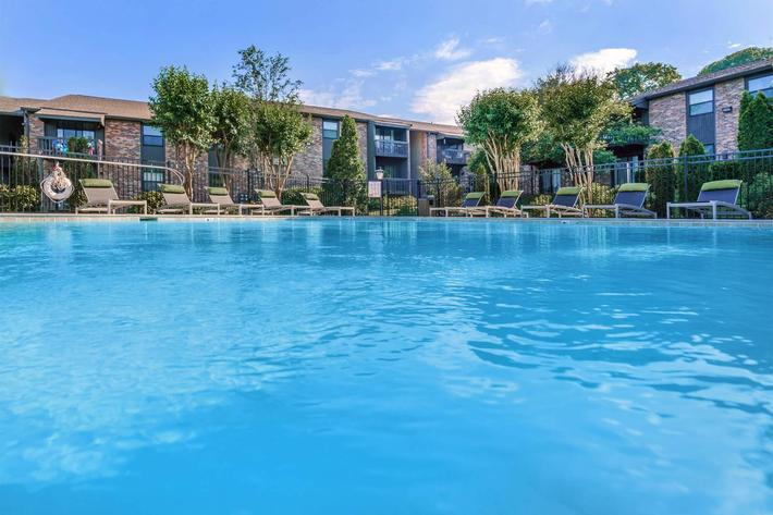 Salt Water Swimming Pools at Gazebo Apartments