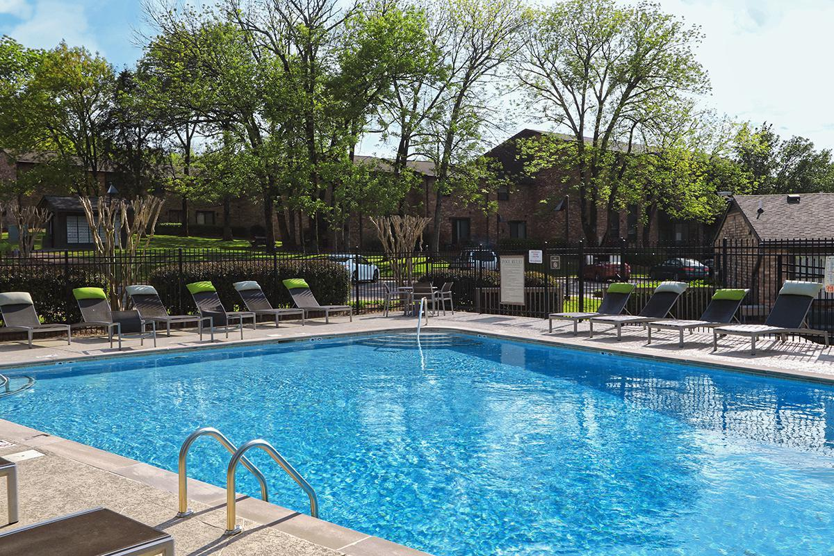 Swimming Pool at Gazebo Apartments in Nashville, TN