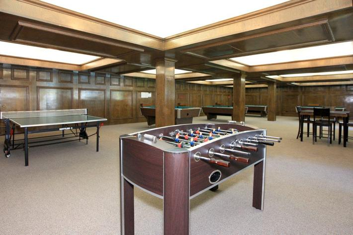 Crystal Tree offers a billiard and game room