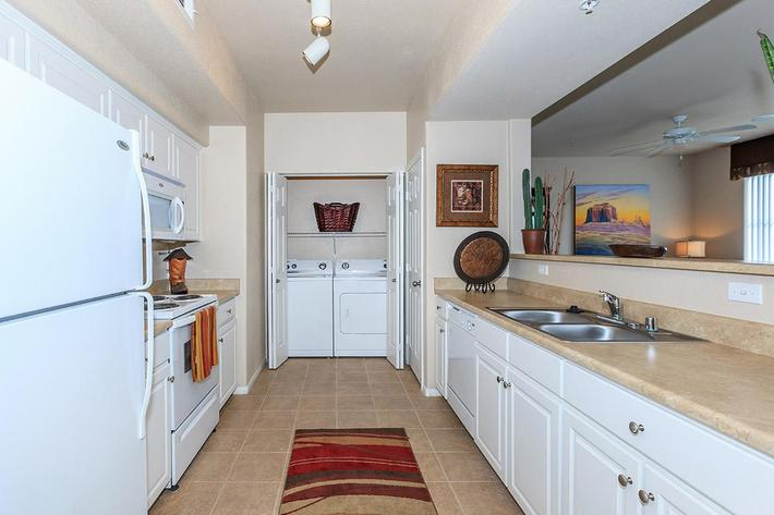 Gourmet Kitchen at The Palladium Apartments in Las Vegas, Nevada