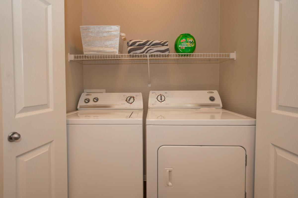 FULL-SIZE WASHER & DRYER IN HOME